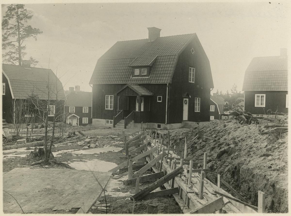 Ulriksdals Järnvägshem, villabyn.