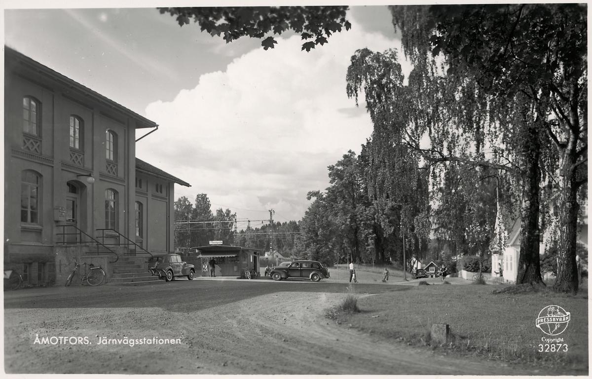 Åmotfors station.