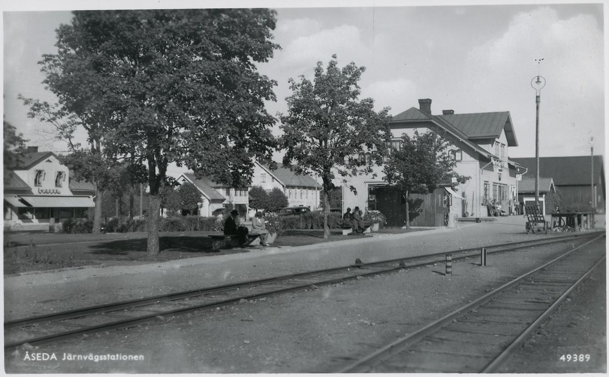 Åseda station.