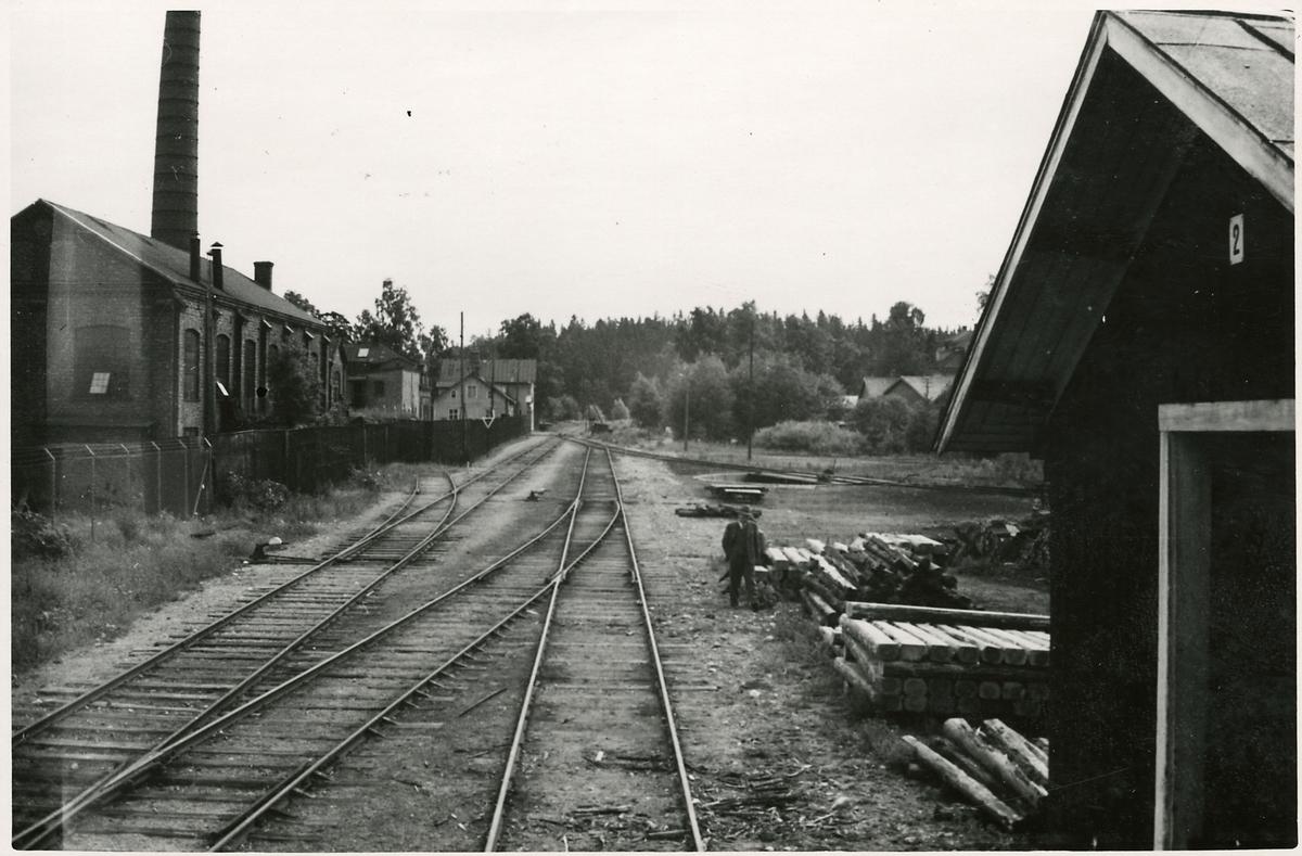 Del av Södertälje Uthamn.