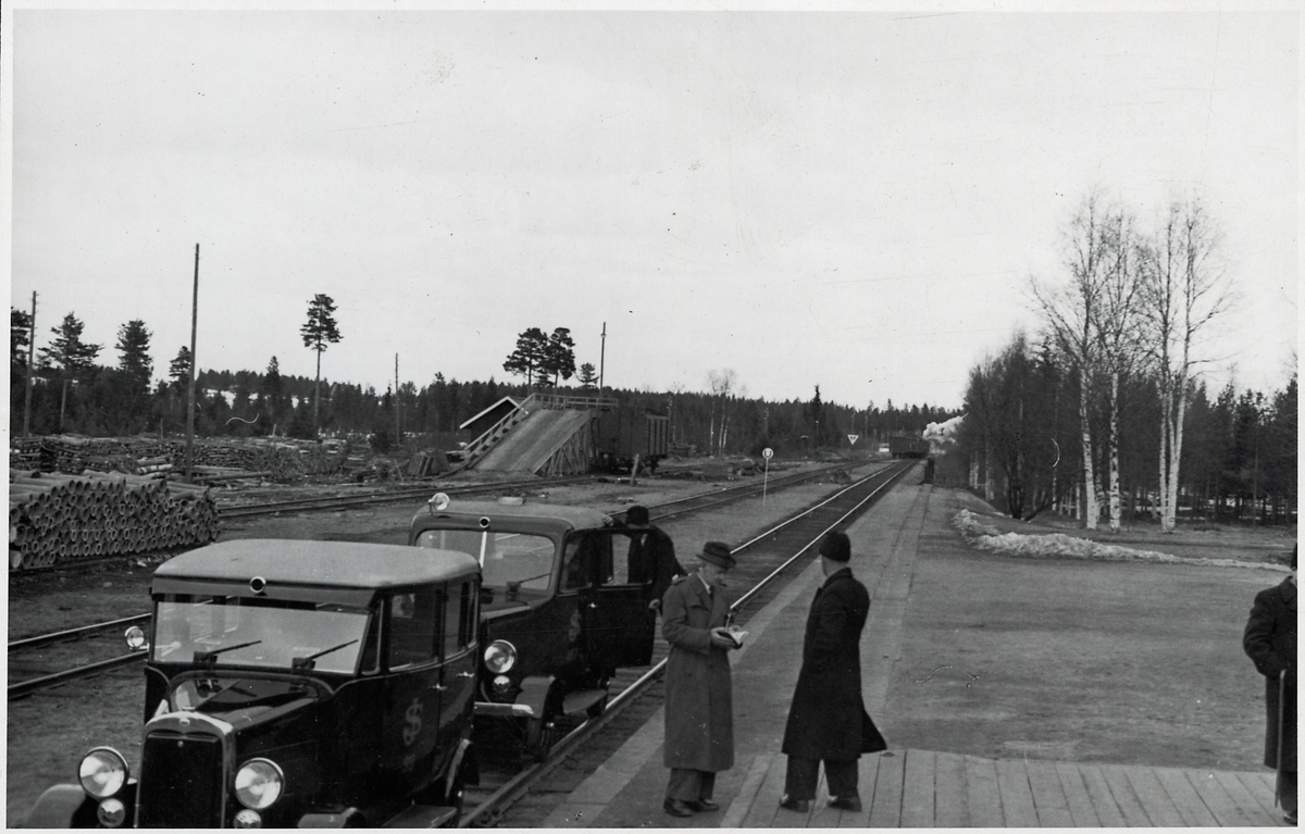 Åsträsk station.