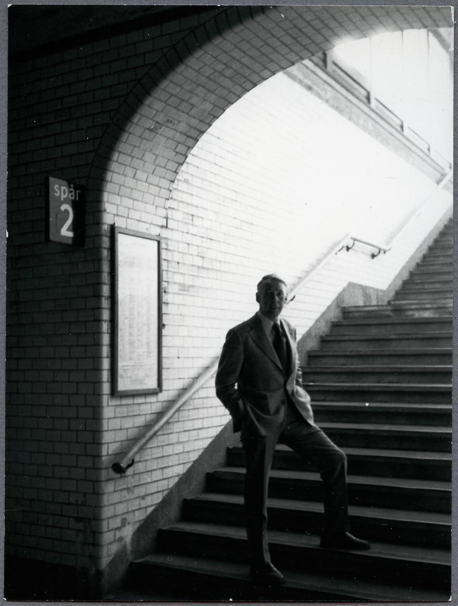 Eslöv gångtunnel. P.G. Åkerström.