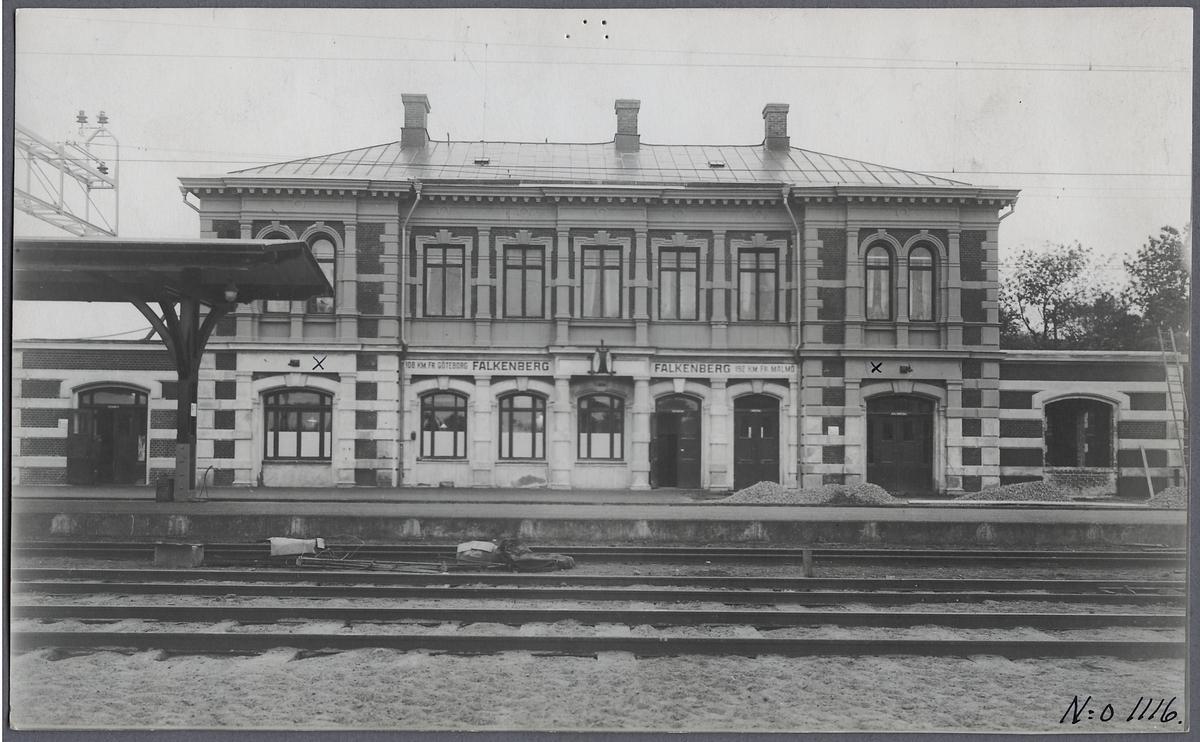 Stationshuset i Falkenberg.