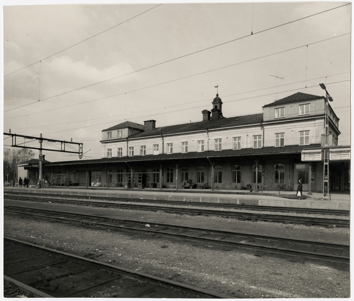 Falun station.
