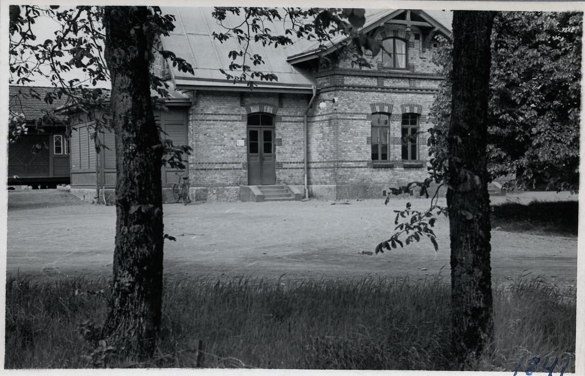 Frillesås stationshus.