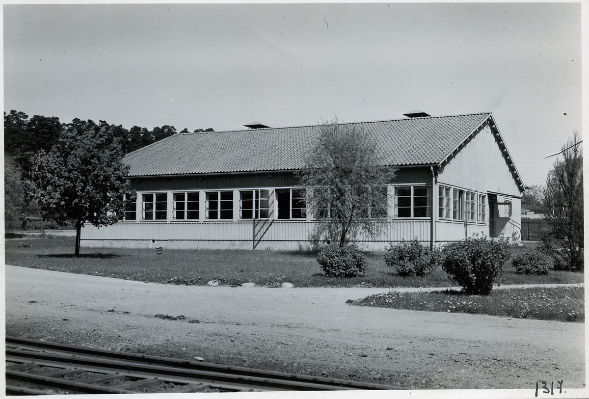 Hagalund, matsalsbyggnad.