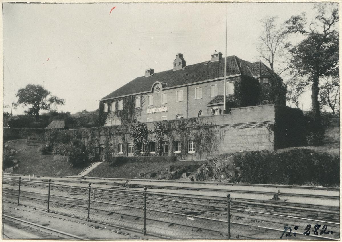 Liljeholmens stationshus.