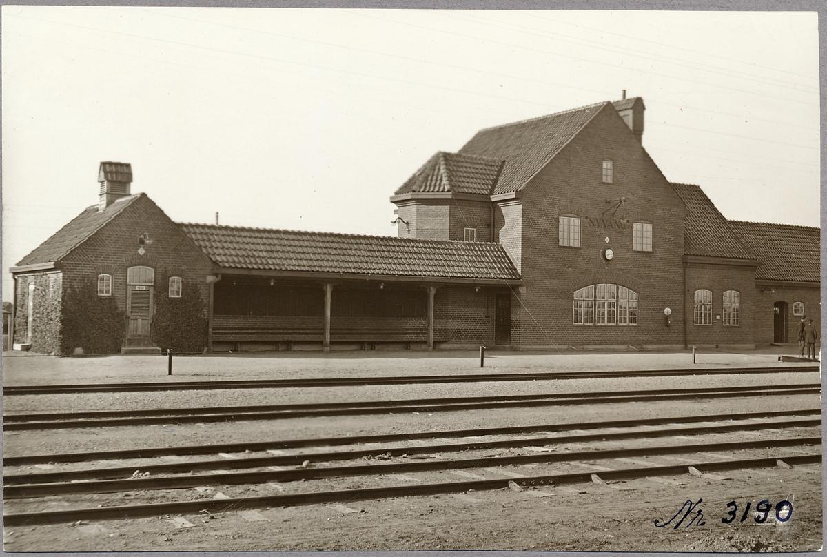 Nyvång stationshus.