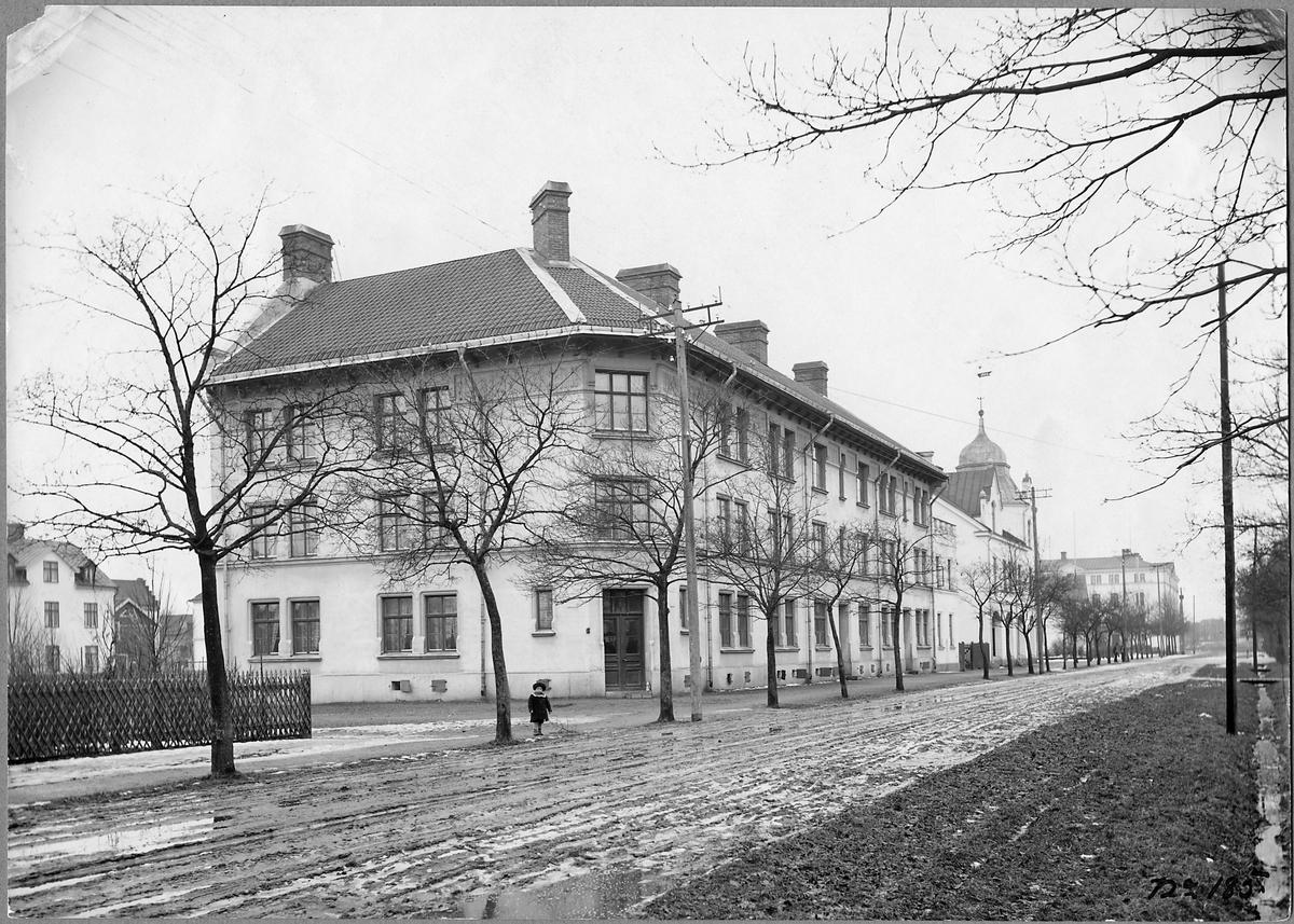 Statens Järnvägar, SJ:s bostadshus i Sala.