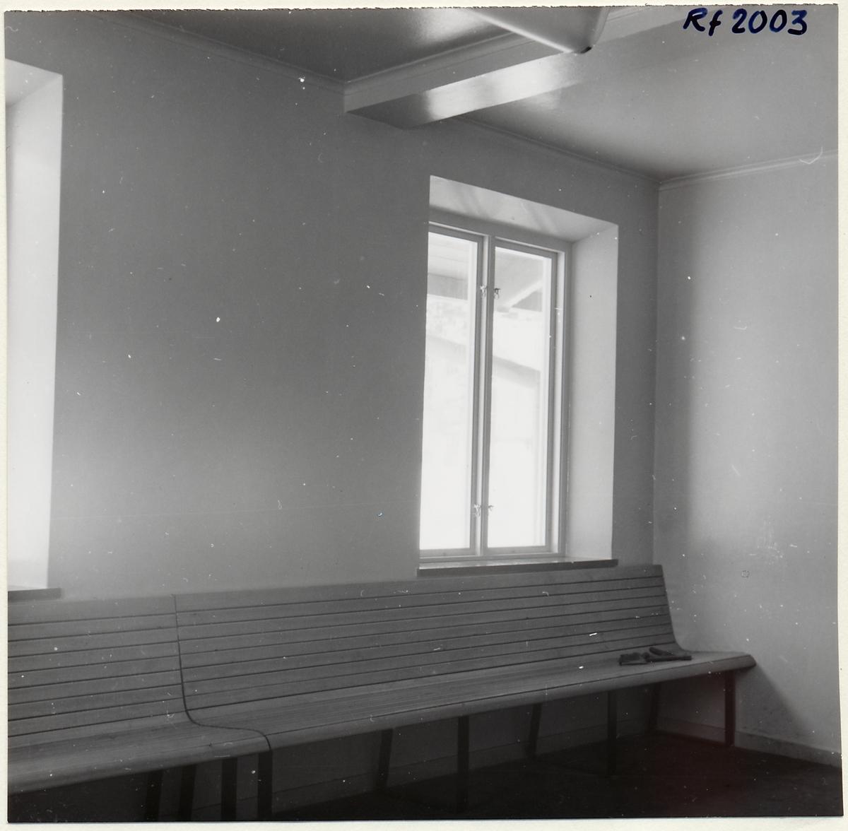 Väntsal i Skåre stationshus