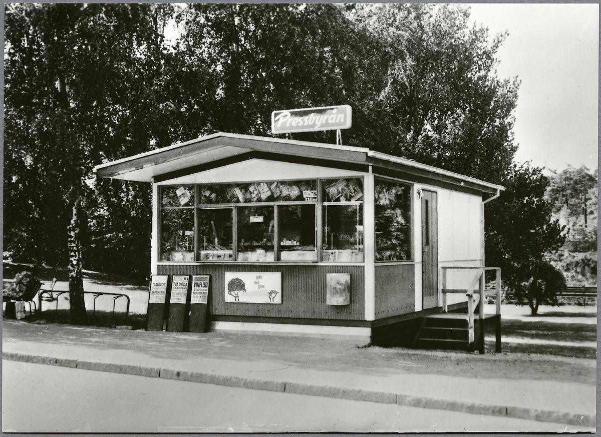 Pressbyråns kiosk i Vetlanda.