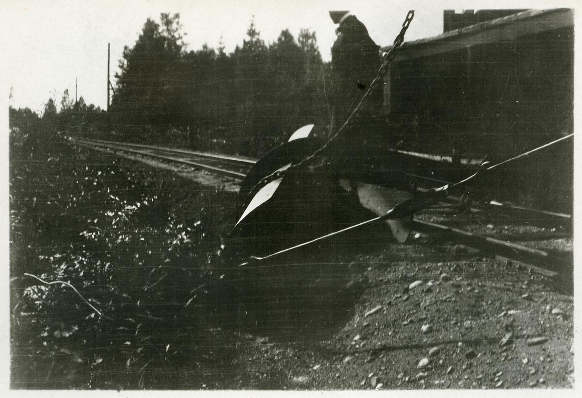 Ballastjusterare vid Dala - Ockelbo - Norrsundet Järnväg, DONJ.