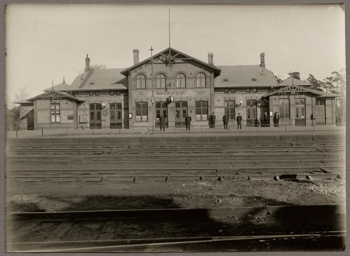 Centralstationen i Ängelholm.