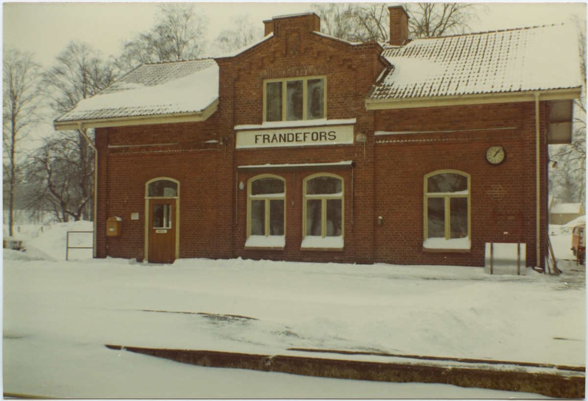 Frändefors stationshus.