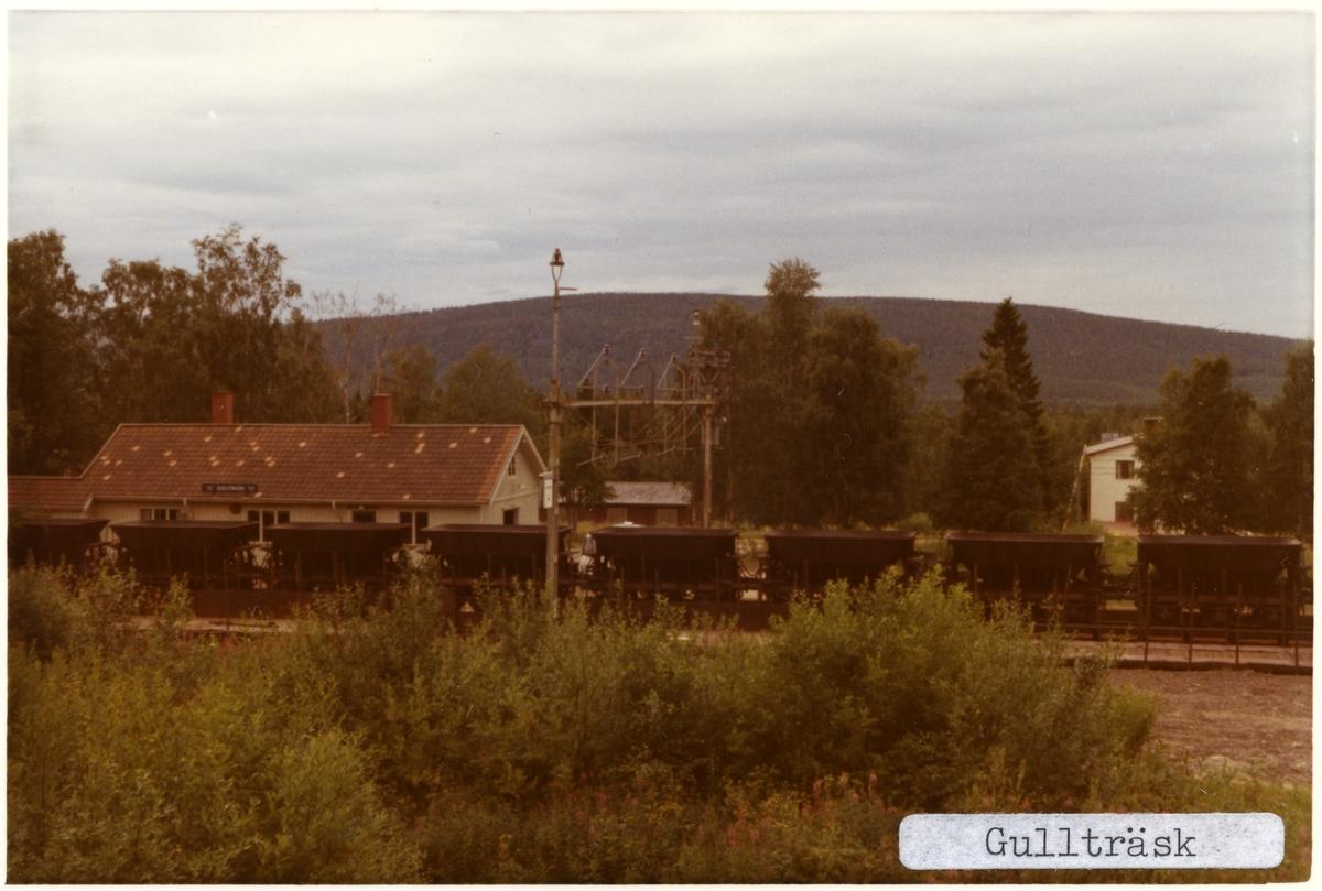 Gullträsk station.