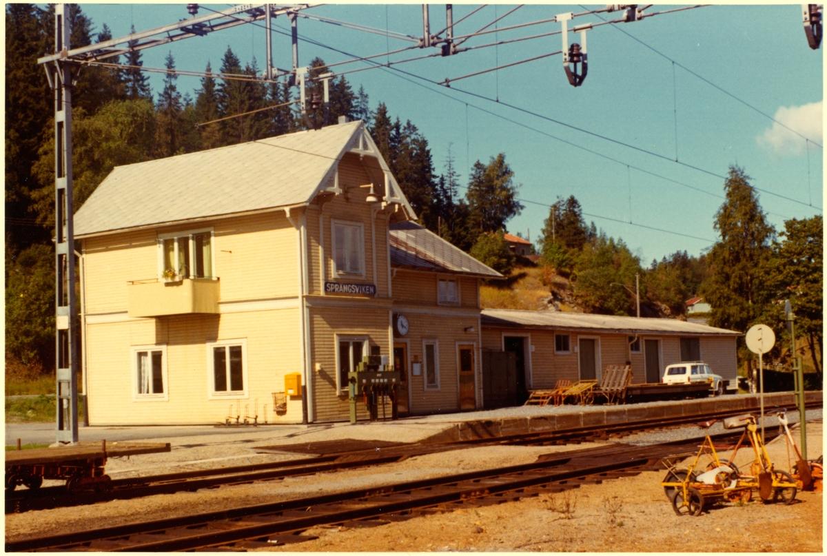 Sprängsviken station.