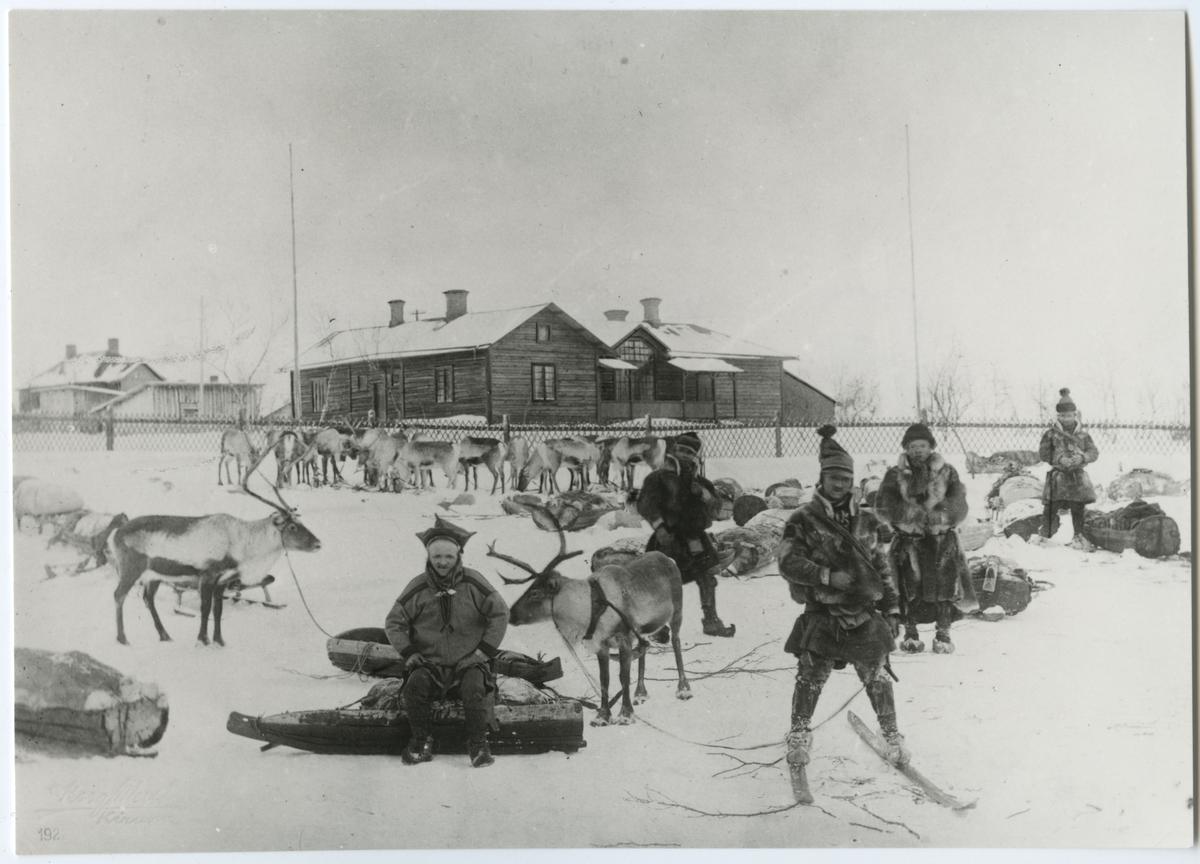 Disponent Lundbohms bostad i Kiruna