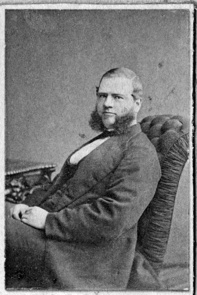 Stationsingenjör Gustaf Adolf Ingelman.