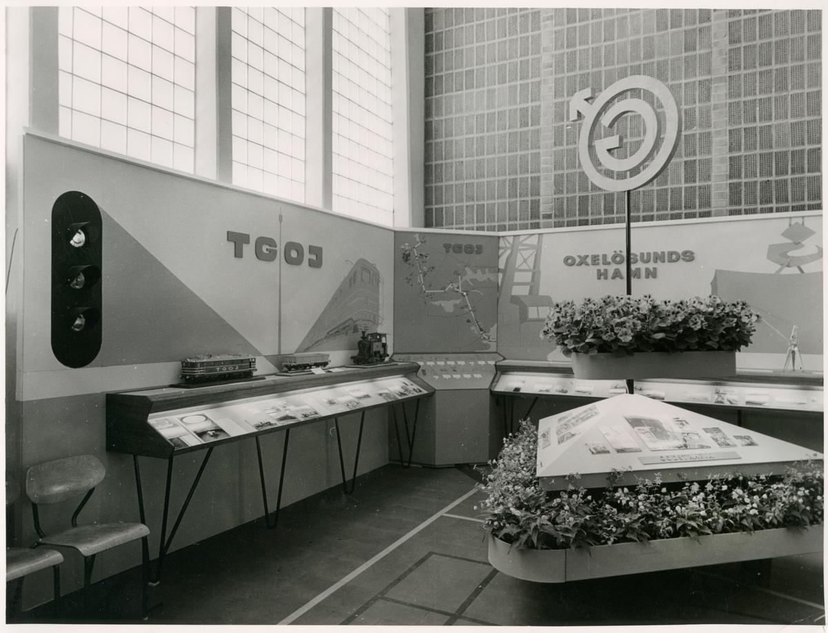 Trafikaktiebolaget Grängesberg–Oxelösunds Järnvägar, TGOJ utställning under Eskilstuna stads 300 års jubileum.