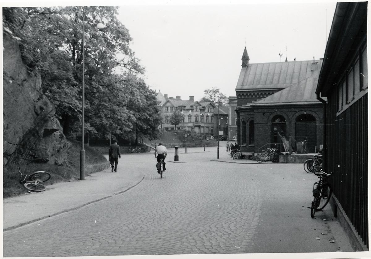 Borås Centralstation, gatusidan.