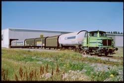 Godståg draget av lokomotor tillhörande Trafikaktiebolaget G