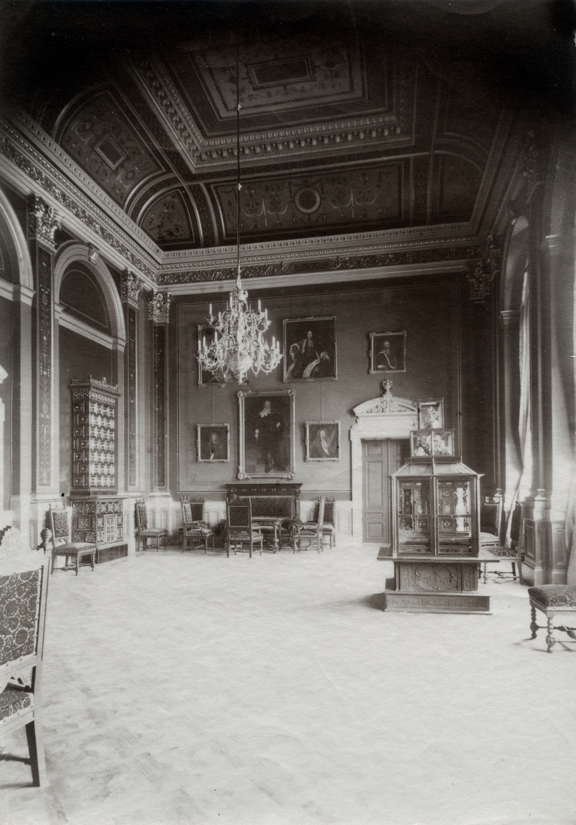 Kanslersrummet, Universitetshuset, Uppsala 1891