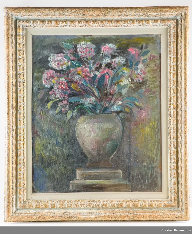 Blomsterstilleben [Oljemålning]