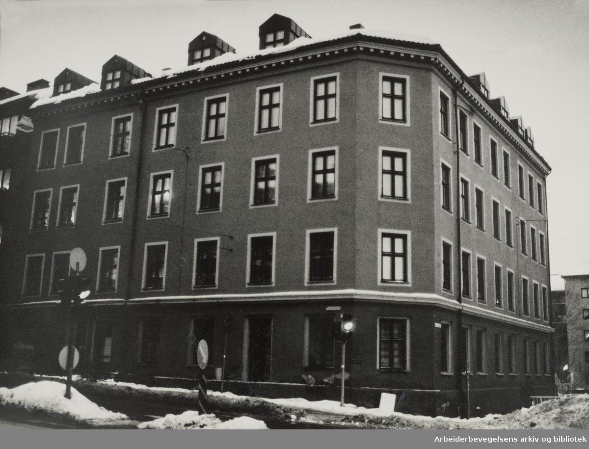 Fagerheimgata 11. Februar 1985