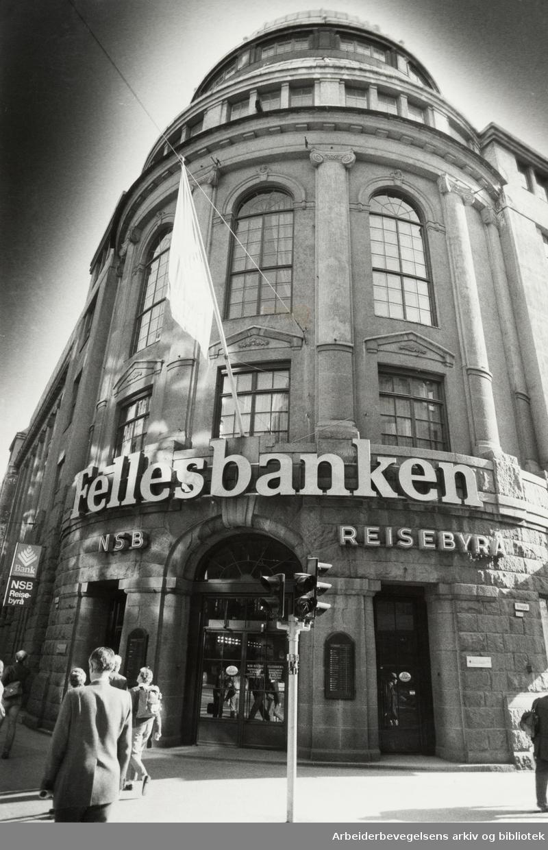 Fellesbanken. September 1983