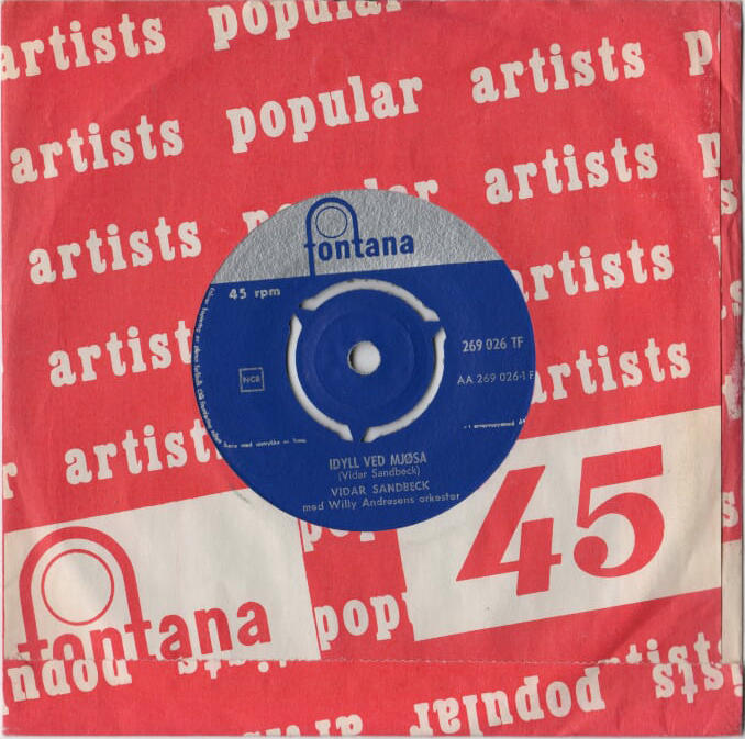 Vidar Sandbeck single nr. 13