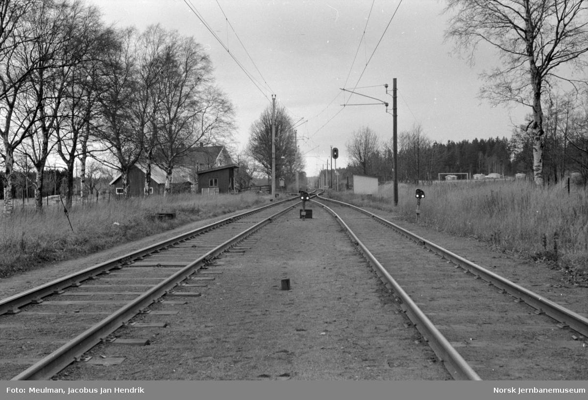 Rygge stasjon, utkjør i retning Oslo Ø.