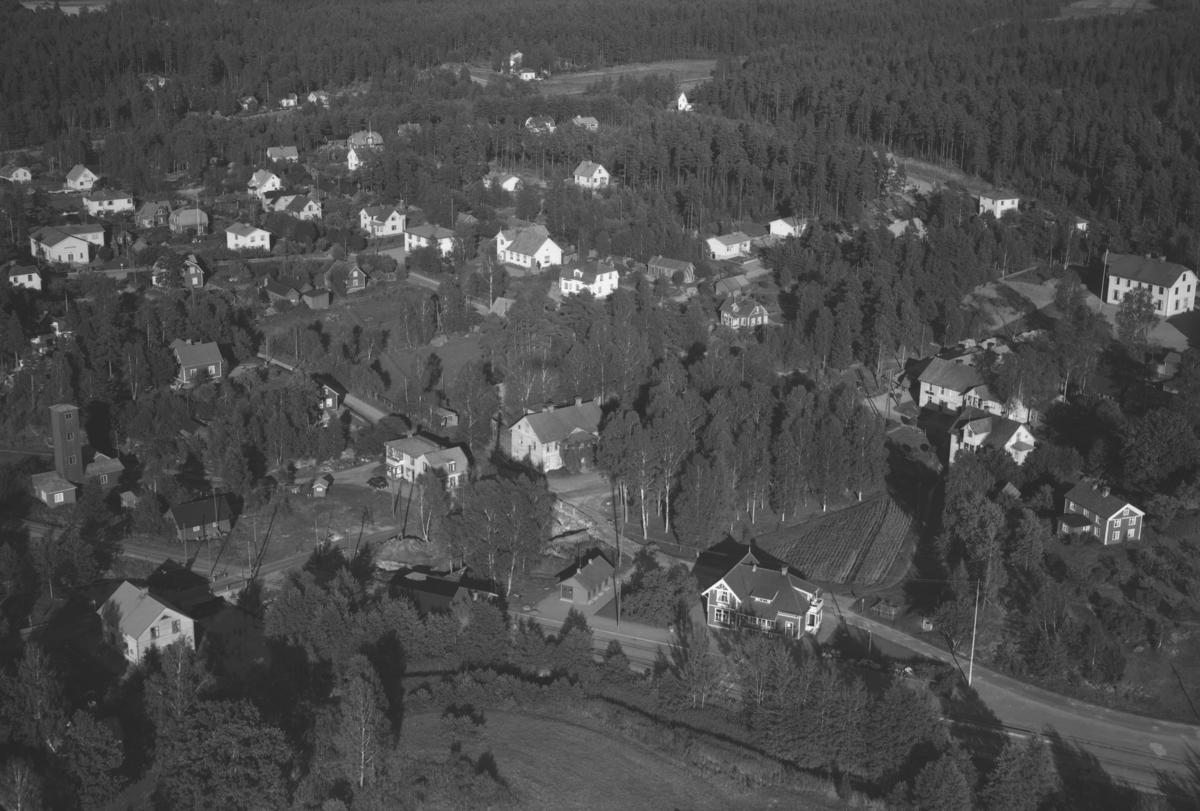 Flygfoto över Kvillsfors i Vetlanda kommun. Nr. M. 1000