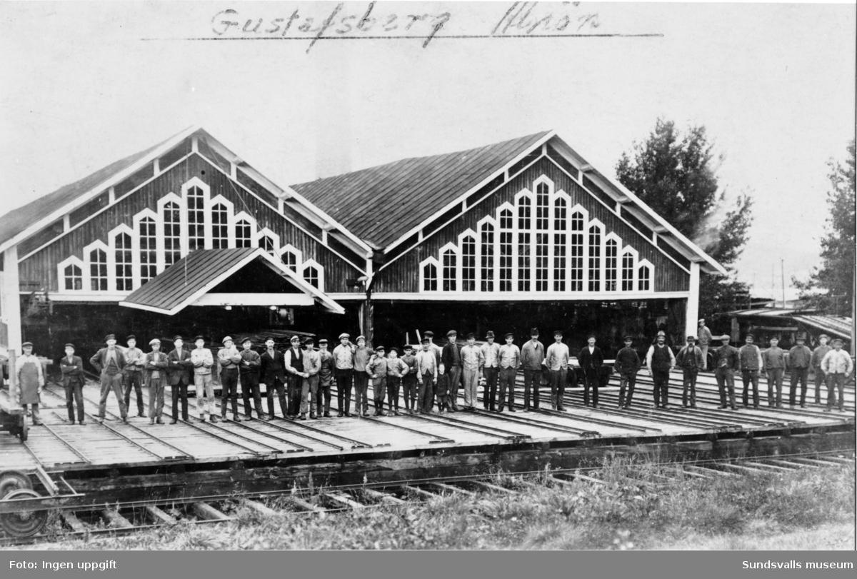 Gustavsbergs sågverk.