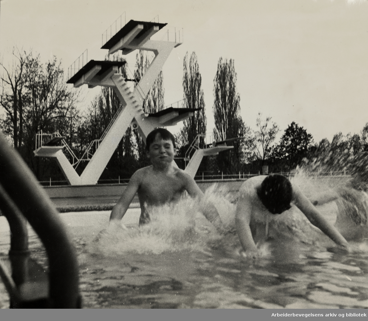 Frognerbadet. 21. mai 1971