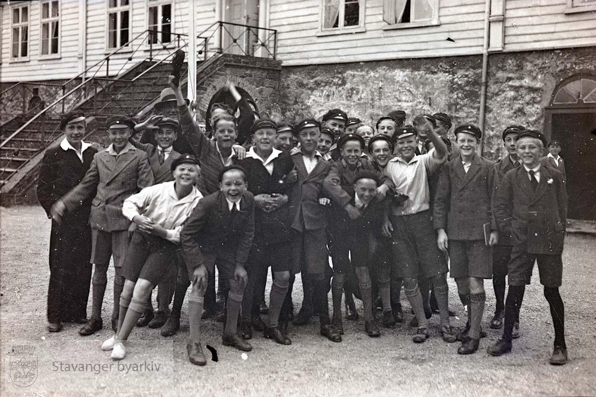 Elever ved Kongsgård skole