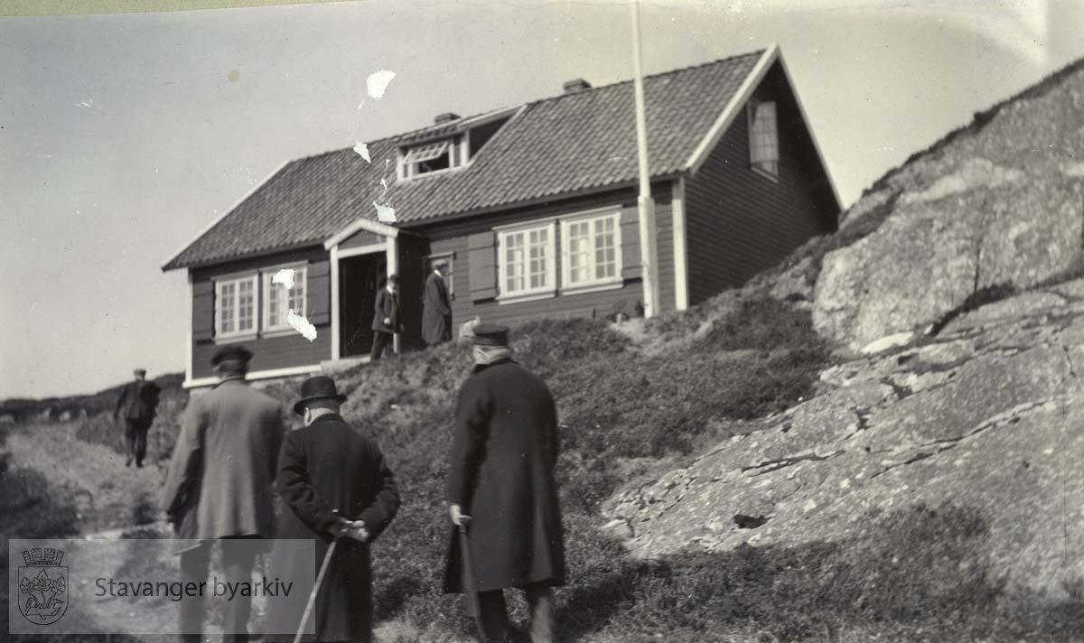 Langaberje, Ogna, våren 1915
