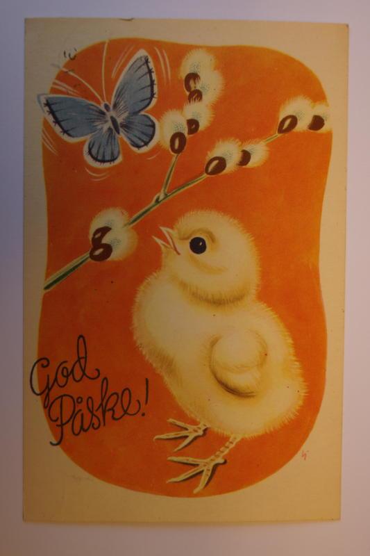 Påskekort fra Glomdalsmuseets samling (Foto/Photo)