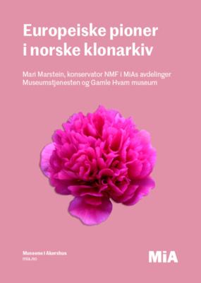 Europeiske pioner i norske klonarkiv Edit