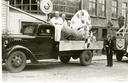 Lastebil fra Stavanger Tekniske Aftenskole
