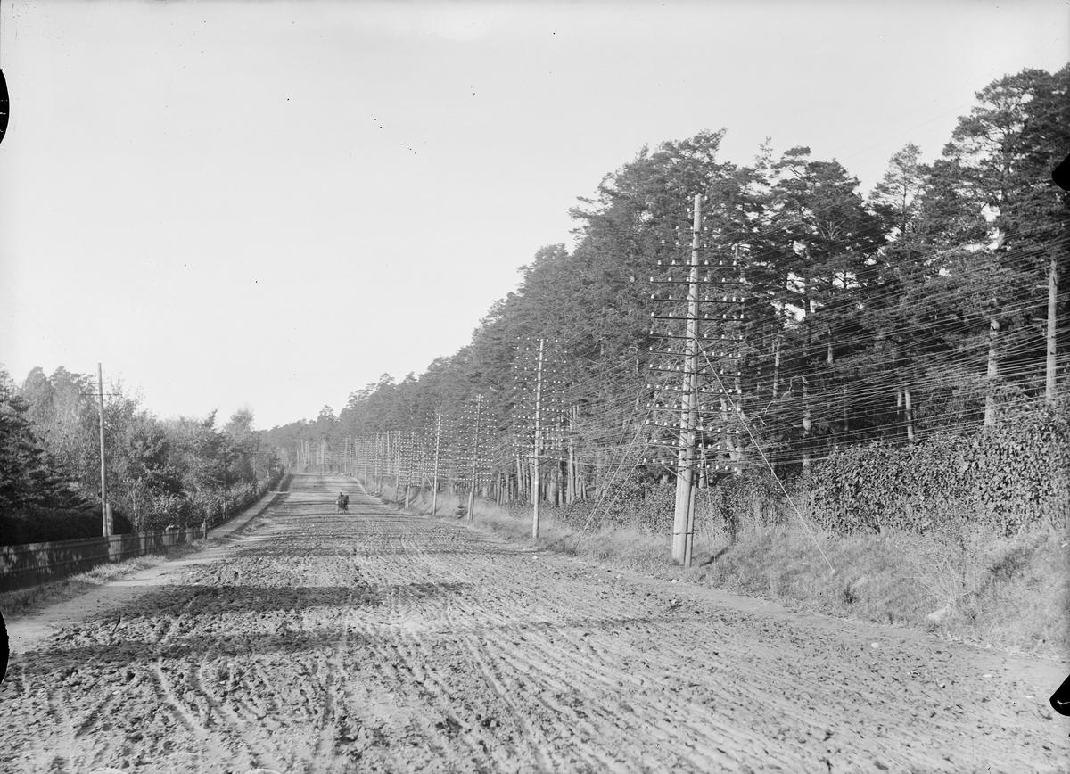 Landsvägen Norrtull - Järva.