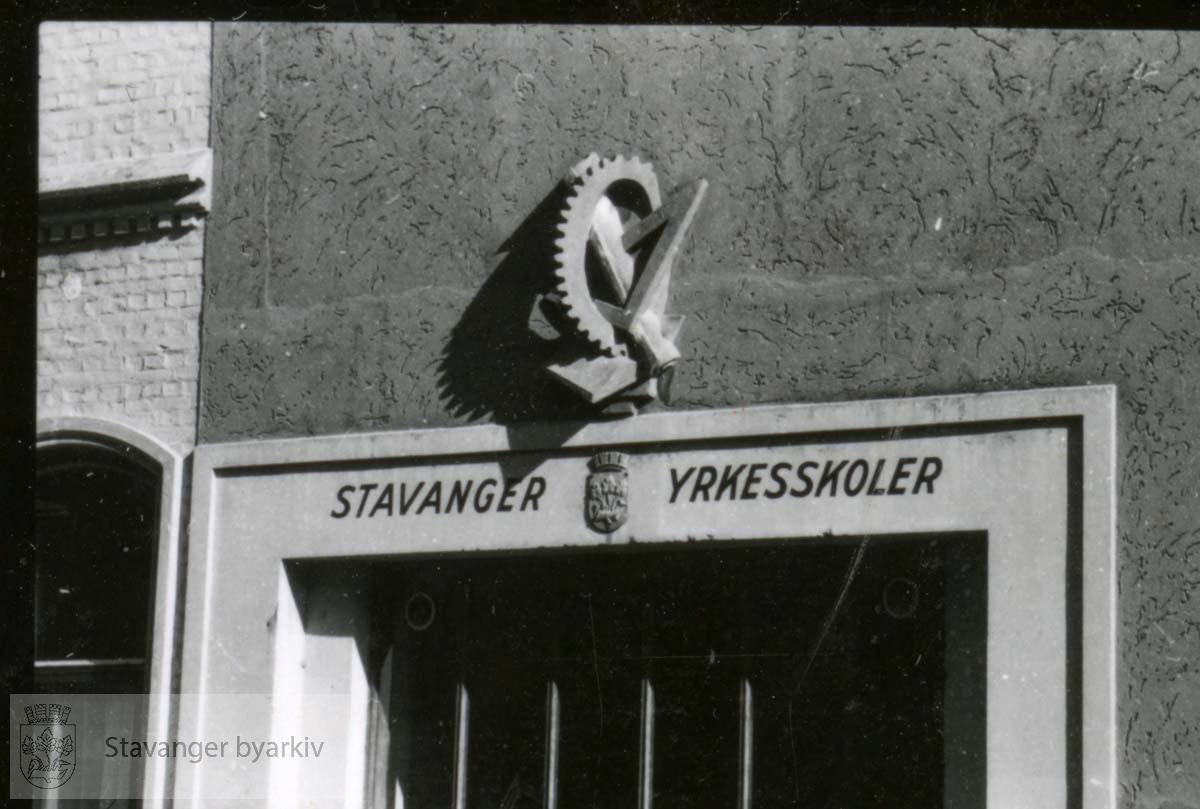Eksteriør..Stavanger yrkesskoler ..Stavanger Tekniske Fagskole
