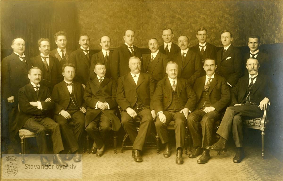 St. Svithun sangforening ved 25-årsjubileet 22. nov 1920