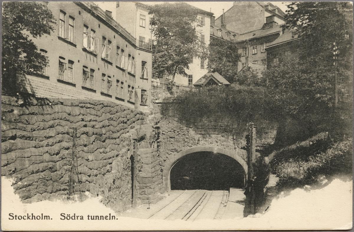 Stockholm Södra tunneln.