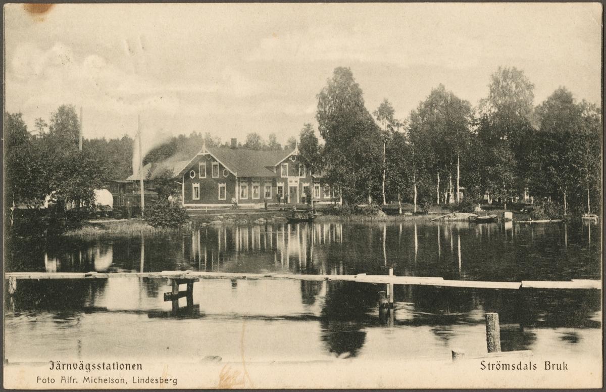 Stationsområde vid Hyttsjön.