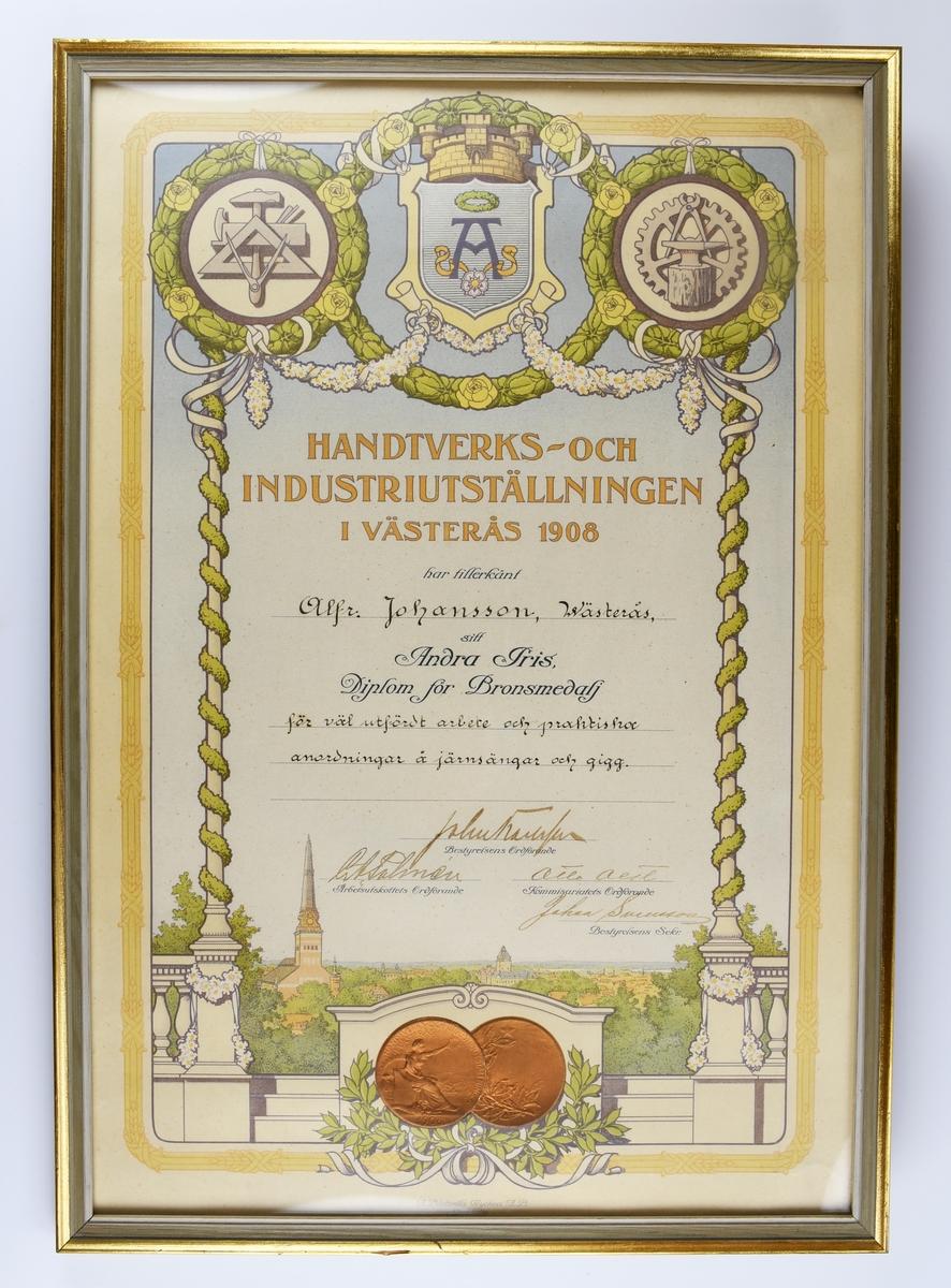 Diplom för hantverkare.