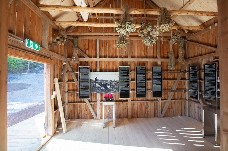 Utstilling i fjøs (Foto/Photo)
