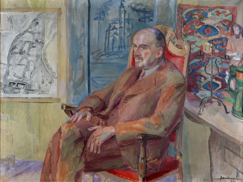 Portrett av Hans Aall. NF.2002-0079