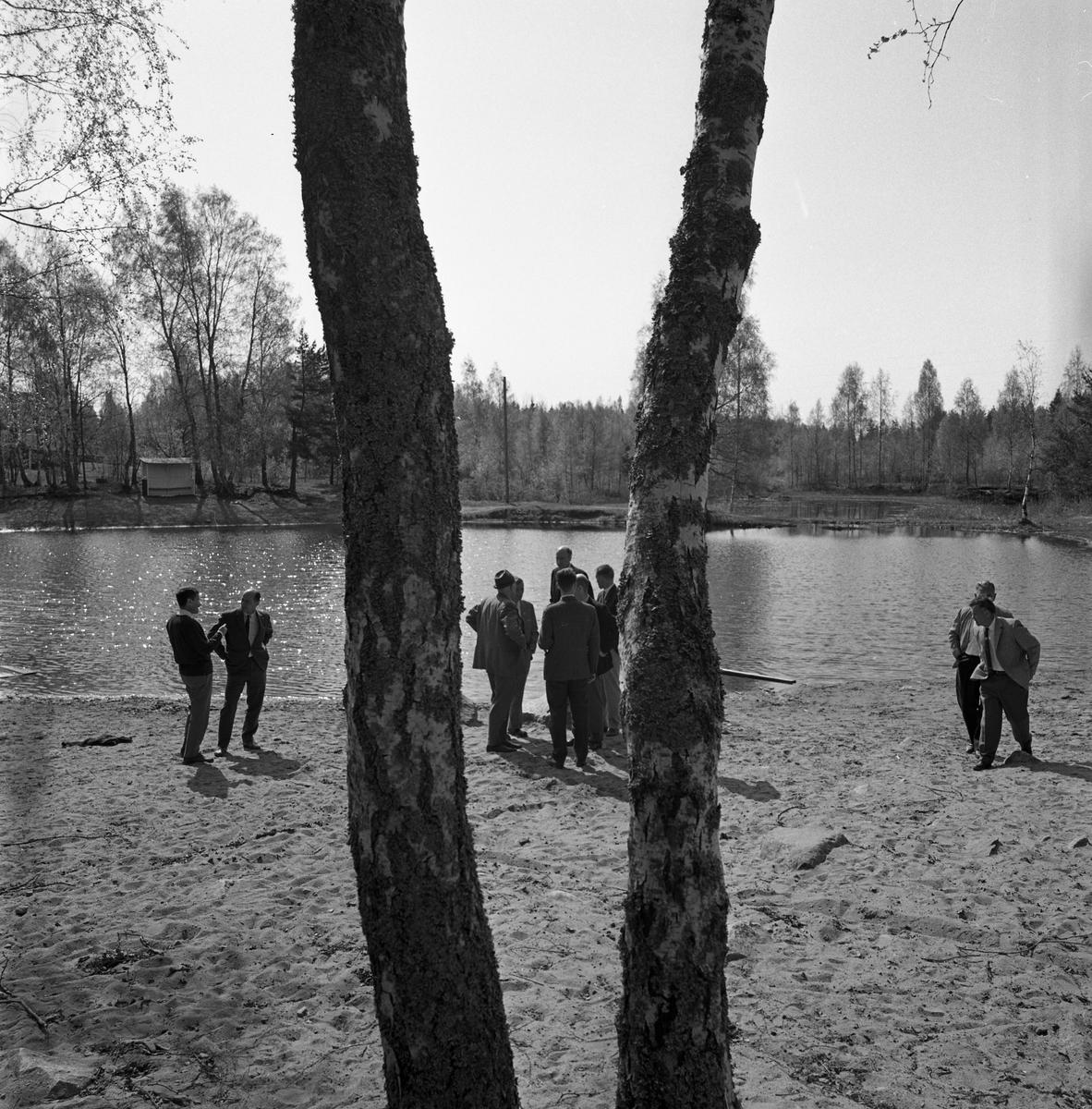 Fritidsnämnden ser på Landskogsbadet
