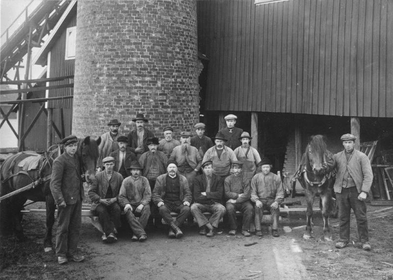 Torp Teglverk ca 1910