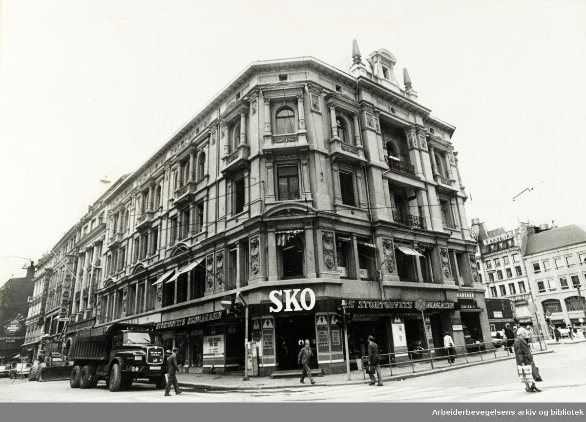 Karl Johans gate. Juli 1977